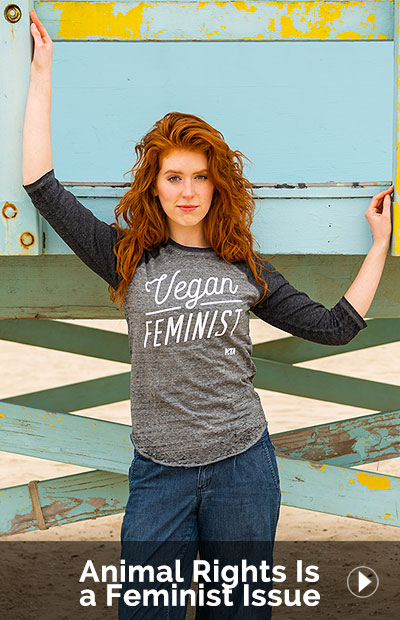 Animal Rights Is a Feminist Issue